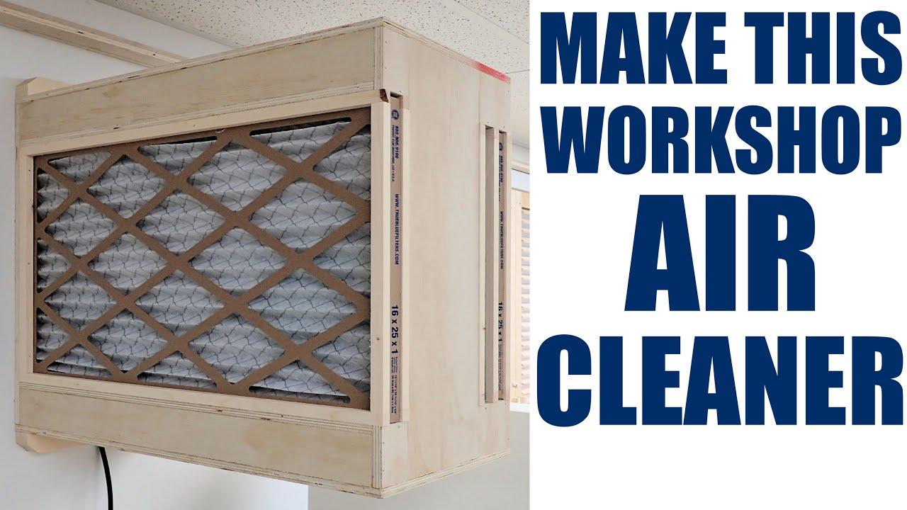 Homemade Woodshop Air Filter