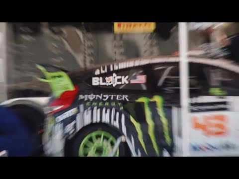 Ken Block X Games 17 - Testing - Interview by Vaughn Gittin Jr. Ford Racing TV