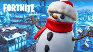 *Trolling* With New Snowman In Fortnite Battle Royale