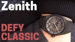 Zenith DEFY CLASSIC: Skelettierte Schönheit 💀 | MONTREDO REVIEW