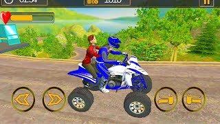 Offroad ATV Bike Taxi Driving Games 2019    ATV Bike 3D Racing Games    ATV Bike Gameplay