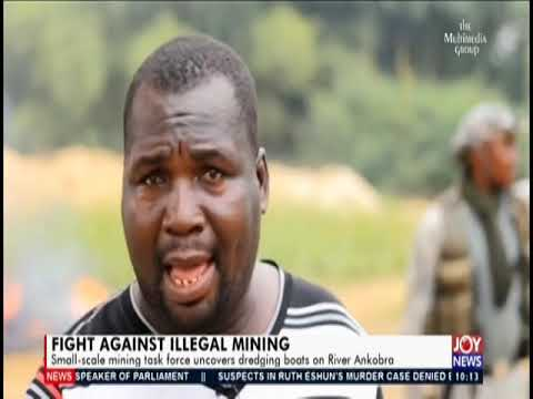 Fight Against Illegal Mining - News Desk On JoyNews (27-2-20)