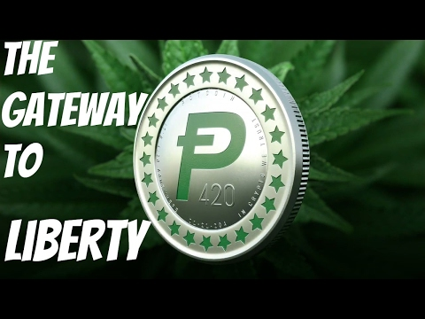 "The Cryptocurrency ""POT"" Coin And The Future Of Cannabis Trading"