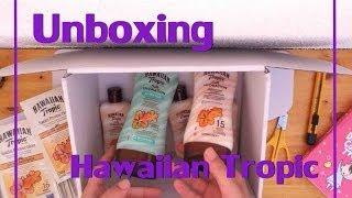 Unboxing Hawaiian Tropic (trnd)