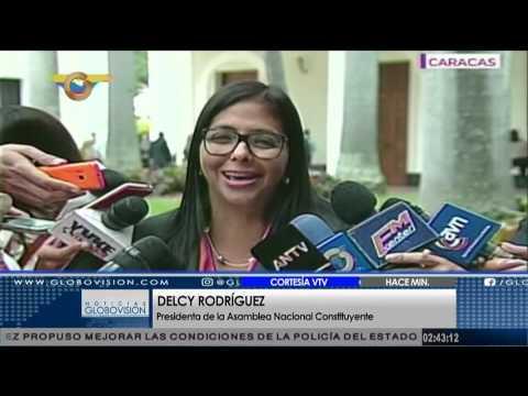 Delcy Rodríguez: ANC no disolvió el Parlamento