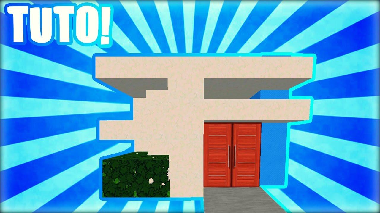 Tuto comment faire une maison moderne dans minecraft youtube - Comment faire une maison moderne dans minecraft ...
