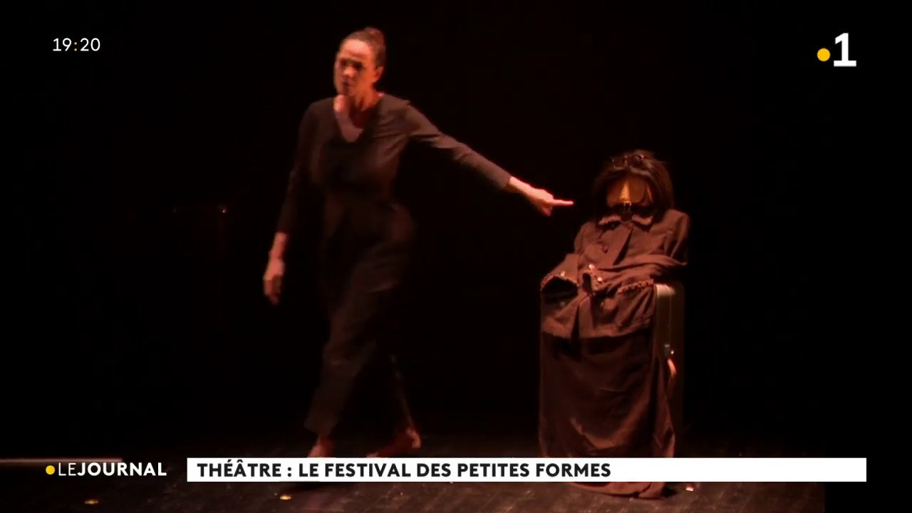 "Reportage ""Désirada"" pièce de théâtre de Maryse Condé avec Nathaly Coualy et Igo Drané"
