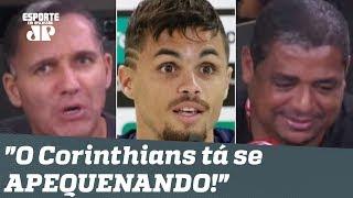 """Corinthians ROMPE com Goiás após Michael ir ao Flamengo, e Vampeta ouve: """"tá se APEQUENANDO!"""""""