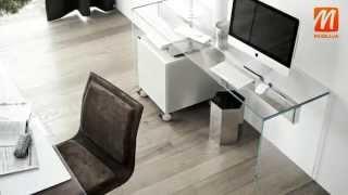 видео стеклянные столы киев