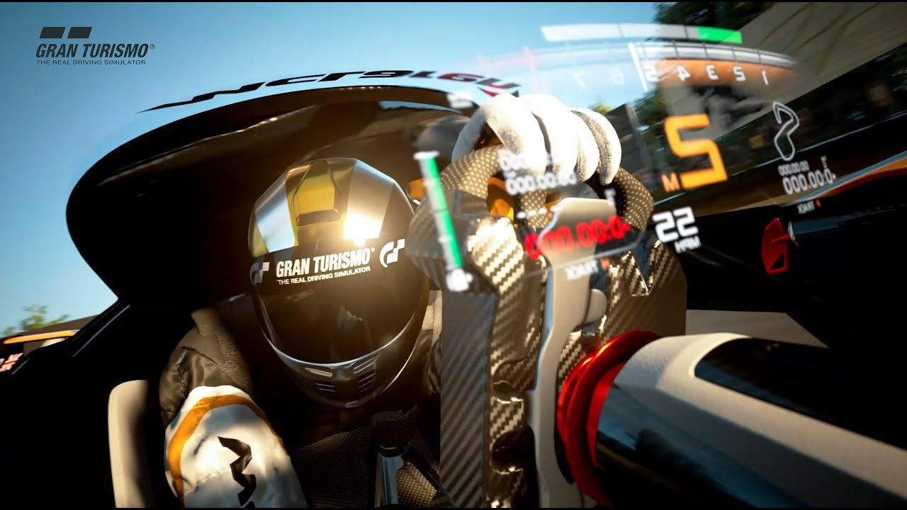 The McLaren Ultimate Vision Gran Turismo - exclusively for Gran Turismo Sport on PS4