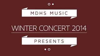 Lullaby of Birdland - Third Stream - MDHS Winter Concert 2014