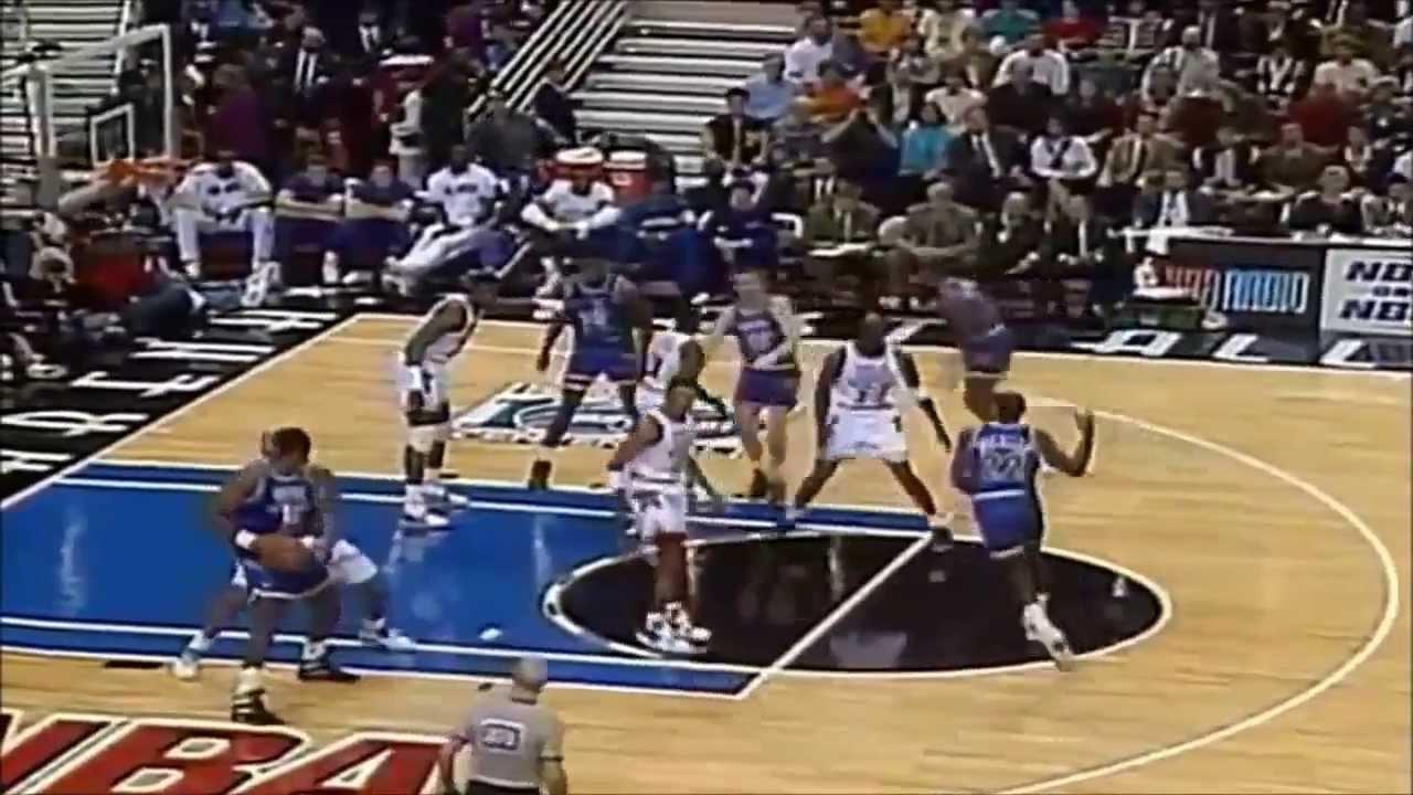 8b319396b5f2 1992 NBA All-Star Game Best Plays - YouTube