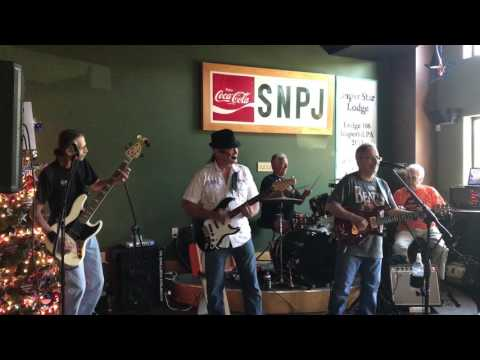 Rack Em Up  by The Hedgg Band at the SNPJ car cruise