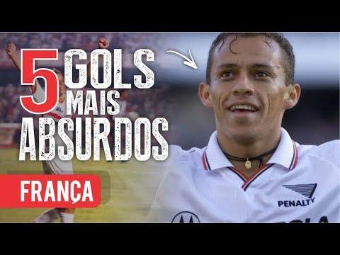 Os 5 GOLS mais ABSURDOS de FRANÇA (Ex-São Paulo)