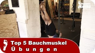 Sixpack Routine | Top 5 Ab Exercises (Bauchmuskel - Übungen)
