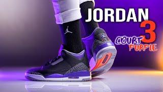 Air Jordan 3 Court Purple | UNDERRATED!