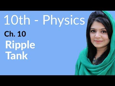 10th Class Physics, Ch 10, Ripple Tank - Class 10th Physics