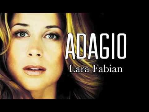 adagio lara fabian + testo base mp3