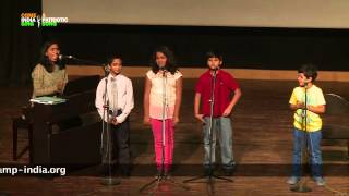 "Choir Performance / Group Singing: ""Sing A Song"" by students of Lorraine Music Academy"