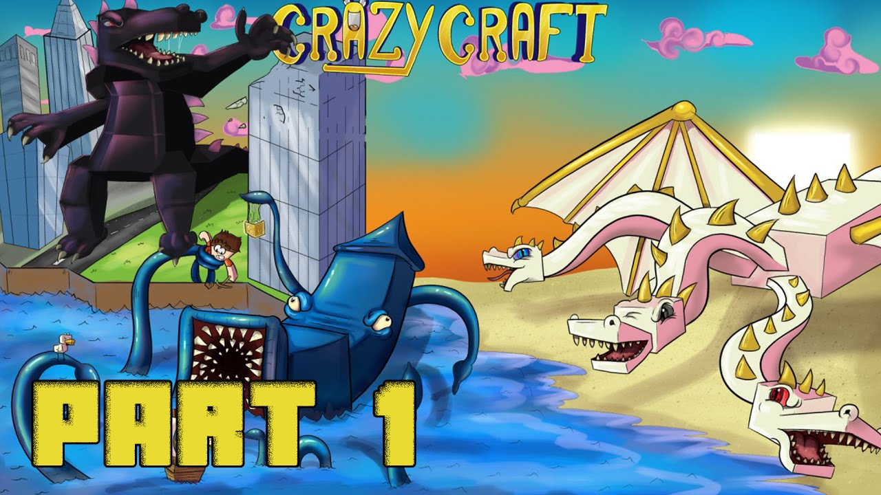Crazy Craft   Mod Pack Download