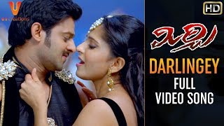 Darlingey Video Song | Mirchi Telugu Movie Songs | Prabhas | Anushka Shetty | DSP | Koratala Siva