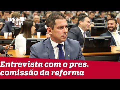 Marcelo Ramos: 'Cada vez que fala, Bolsonaro desidrata um pouco a reforma'
