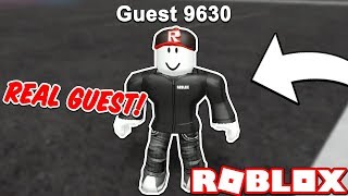 How to BECOME a ROBLOX GUEST in 2018!! *NOT CLICKBAIT*
