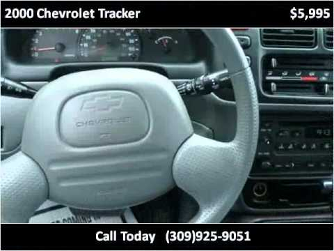 2000 Chevrolet Tracker Available From Tremont Car Connection