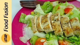 Easy Grilled Chicken Salad Youtube