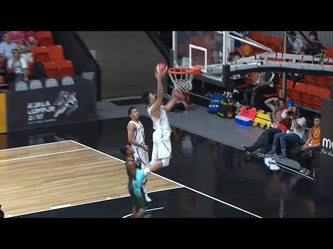 Kobe Paras Catches the Lob and SMASHES It Home! | SEA Games 2017