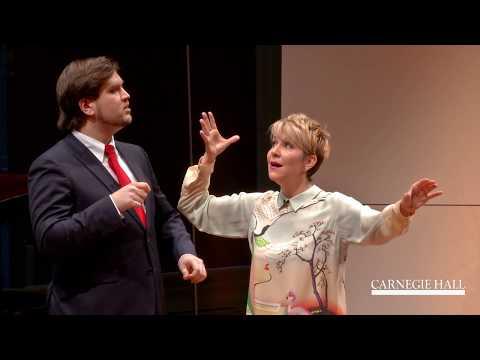 """Joyce DiDonato Master Class January 2016: Rossini's """"La calunnia"""" from Il barbiere di Siviglia"""