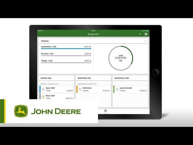 John Deere - Mode d'emploi - Comment utiliser le tableau de bord