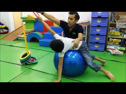 Occupational Therapy - Gross Motor Exercise (Gym Ball Exercise)