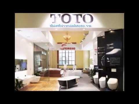 Bàn cầu toto chính hãng- Thiết bị vệ sinh toto