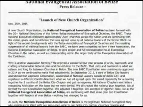 Belize Association of Evangelical Churches