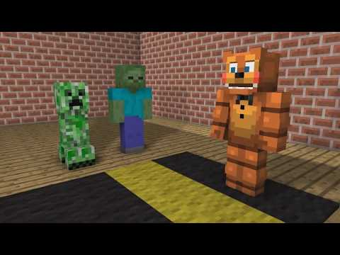 FNAF vs Mobs: Monster School: BEST VIDEOS! - Minecraft Animation