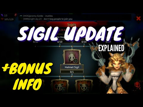 Sigil / 4th Jewel Slot Update - Lords Mobile