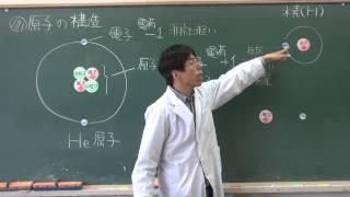 【化学基礎】原子の構造と周期律①~原子の構造~