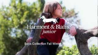 Harmont & Blaine Junior Fall Winter 2012/13 Boys Collection