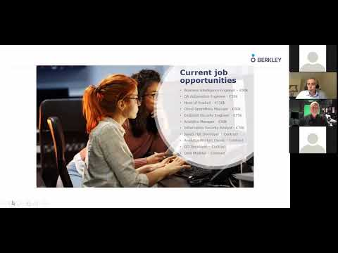 Berkley Group - Computer Science Employment Information - UCC 2020