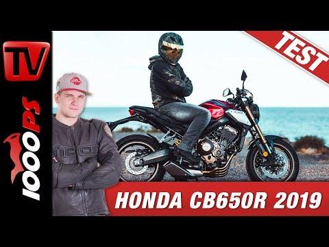 Honda CB650R 2019 Test - flinkes Naked Bike überrascht auf Spaniens Landstrassen!