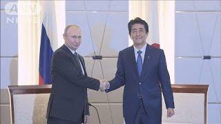 日ロ首脳 平和条約は交渉継続で一致(19/06/30)