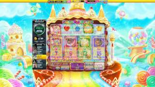 Slotomania Slot Machines | Crazy for Candy -  first start + scatter