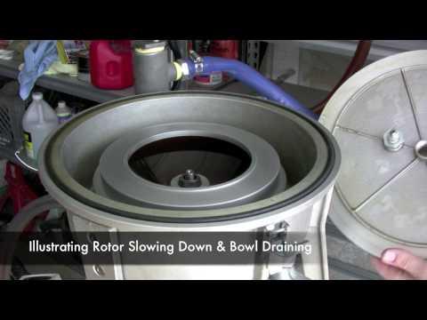 Extreme Raw Power Centrifuge   Filtering Oil   Utah Biodiesel Supply