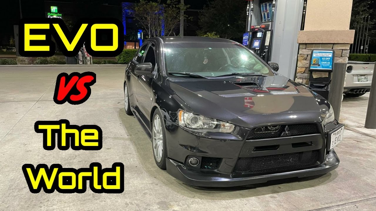 Mitsubishi EVO VS The World! MKIV Toyota Supra, Coyote Mustang, Alfa Romeo, & More!