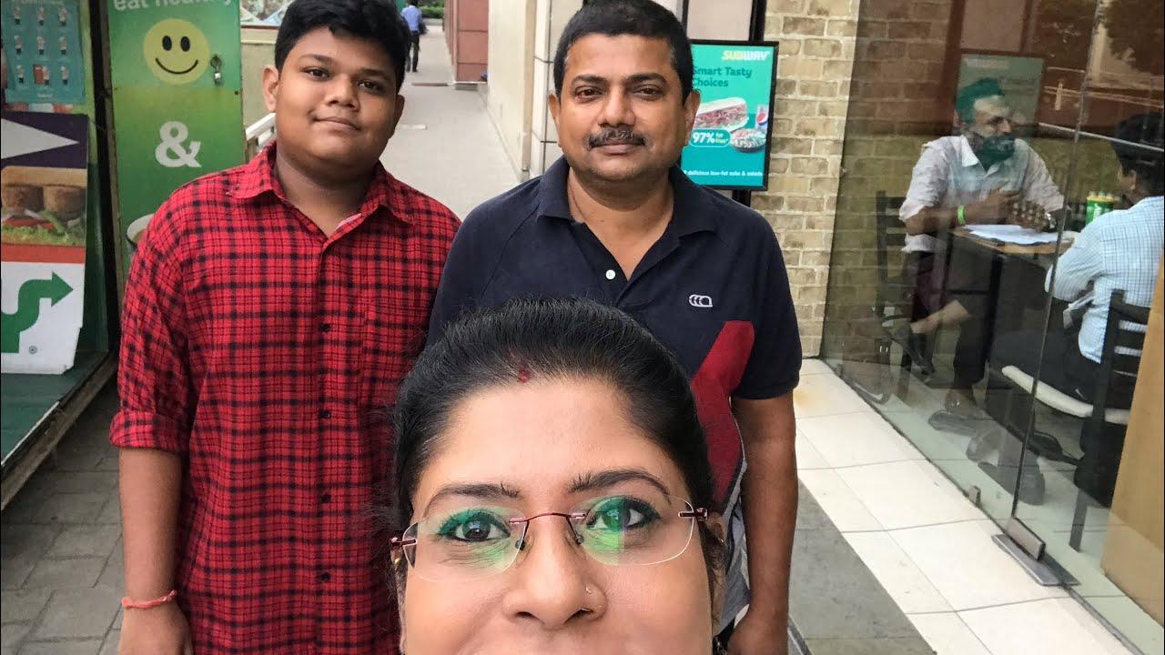 Durga Pujo Special Shopping Vlog     ki kinlam pujo te - Day with Ousumi