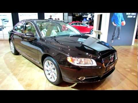 2012 Volvo S80 Exterior and Interior at 2012 New York International Auto Show