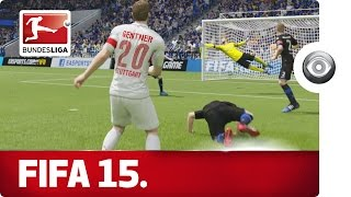 The Drama of the Relegation Battle - FIFA 15 Prediction with EA SPORTS