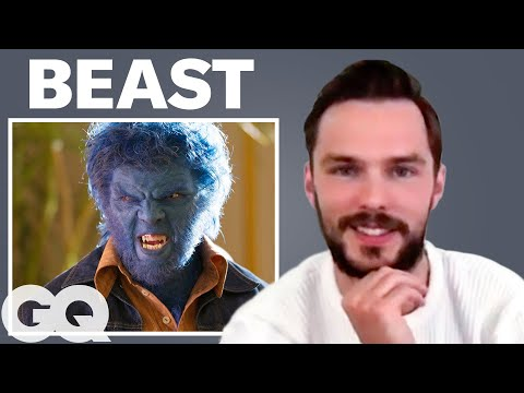 Nicholas Hoult Breaks Down His Most Iconic Characters   GQ
