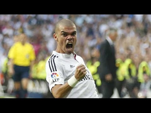 Real Madrid 4 VS Osasuna 0 [Pepe Goal] 10/09/16